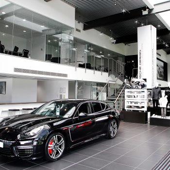 porsche showroom and offices