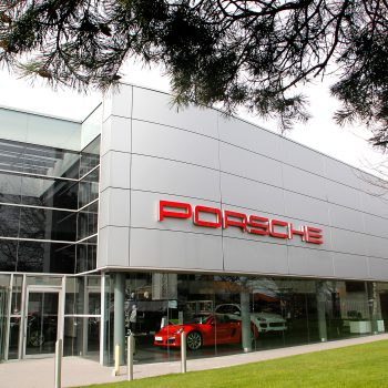 Porsche showroom in Colchester DPL Group case study